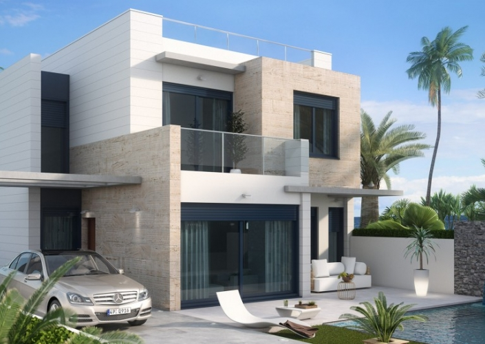 Nouvelle Construction - Villa detached - Orihuela Costa - Lomas de Cabo Roig